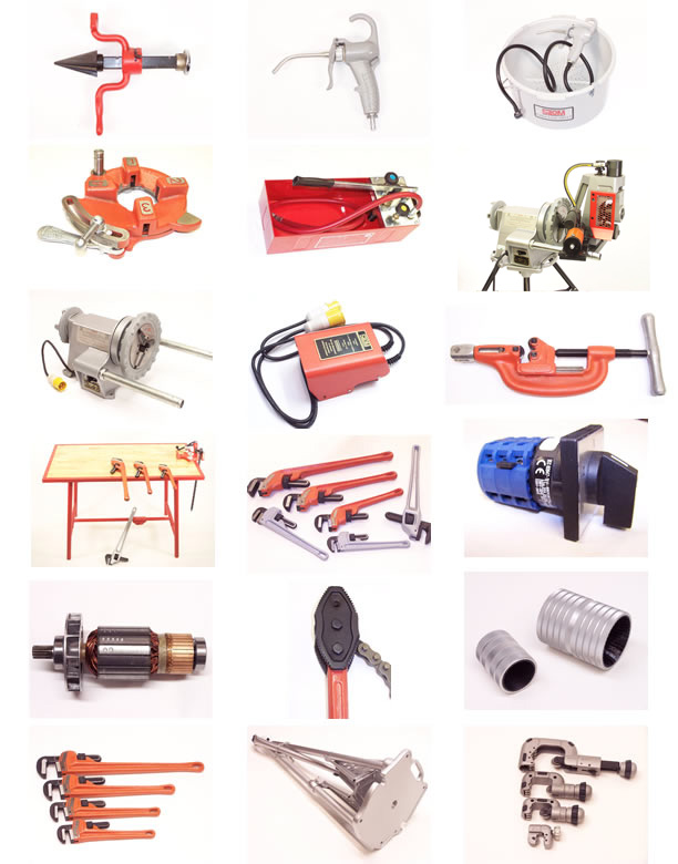 Montage of products from our catalogue